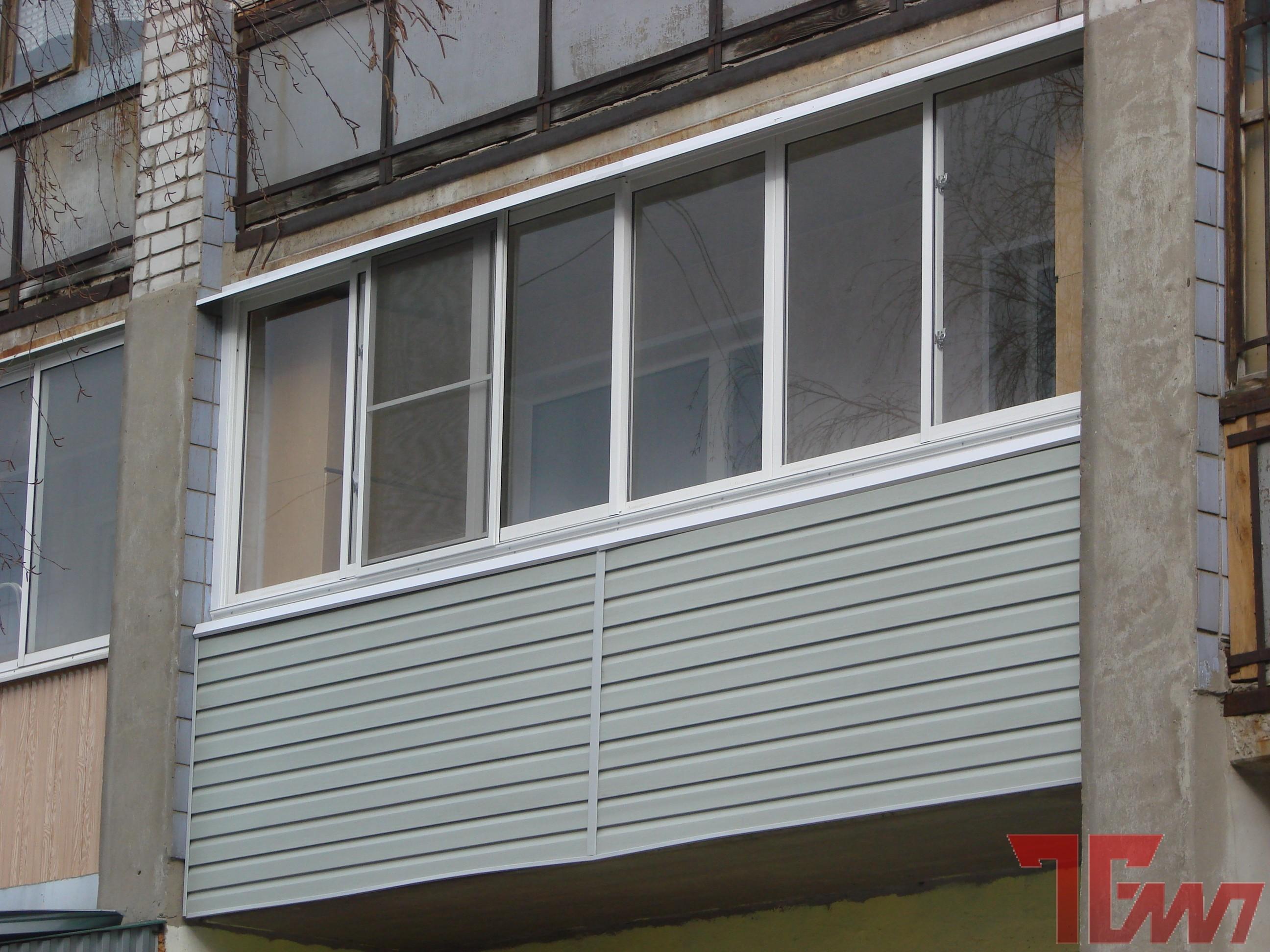Отделка балконов сайдингом на фото и видео.