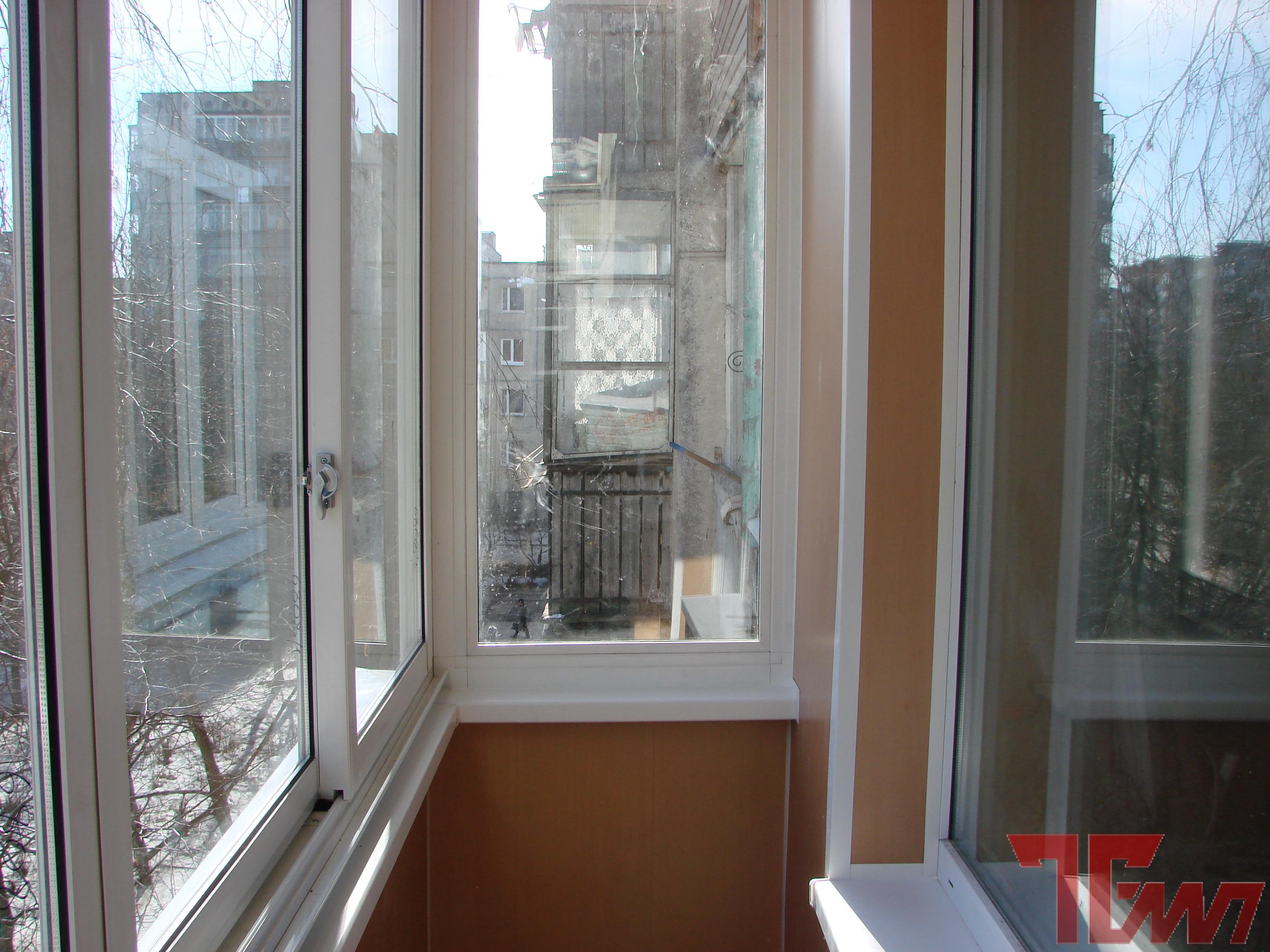 Остекление балконов темп.