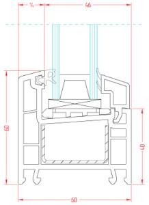 Оконный профиль ПВХ Brusbox